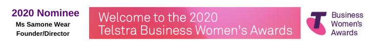2020 Telstra Women Business Awards Nomination